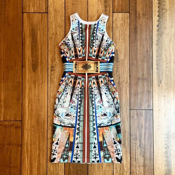 Clover Canyon Dresses & Skirts - Clover Canyon neoprene dress Deco City